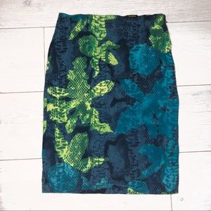 Versace Jungle Print Skirt 🌴